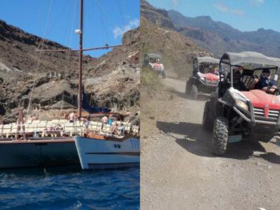 Combo catamaran & buggy